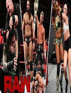 WWE Monday Night RAW 08 April 2019